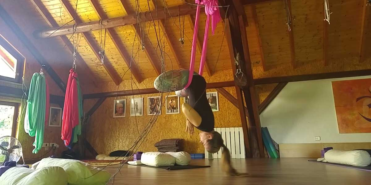 Antigravity Fundamentals Aerial yoga